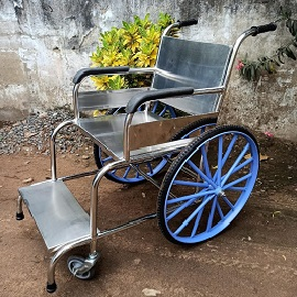 Stainless Steel Wheel Chair